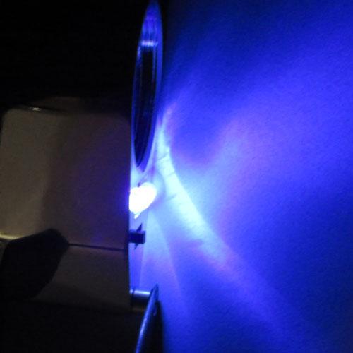 نمای نور ماوراء بنفش لوپ مهندسی