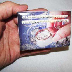 بسته بندی لوپ جواهر شناسی و زمین شناسی 40X با قطر 25 میلیمتر