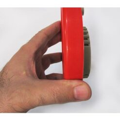 نمای بغل جعبه گشایی بسته بندی دماسنج و رطوبت سنج عقربه ای WS2020