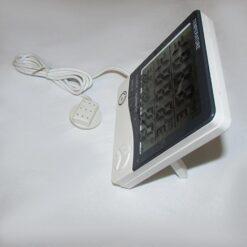 نمای پایه پشتی دماسنج و رطوبت سنج دیجیتال سنسور دار سه خانه مدل HTC-2