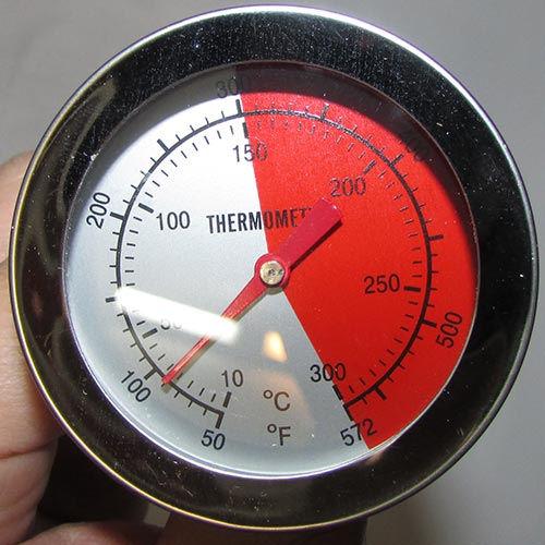 دماسنج آسفالت ، دماسنج خاک ، دماسنج غذا مدلTH-11 از 10 تا 300 درجه