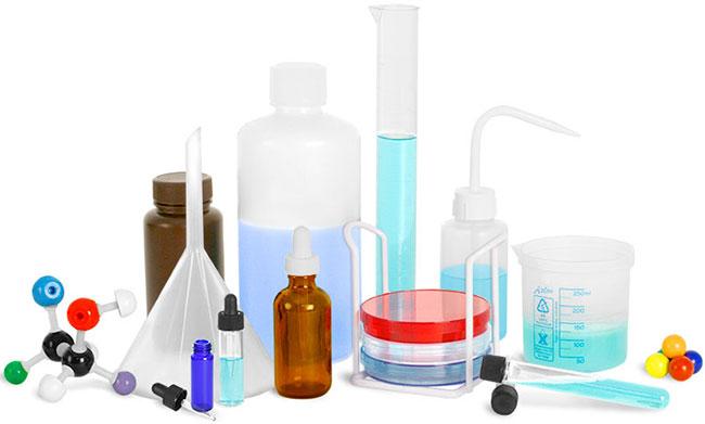 شیشه آلات آزمایشگاهی - مواد شیمیایی مدارس